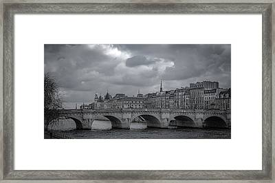 Pont Neuf Paris Framed Print
