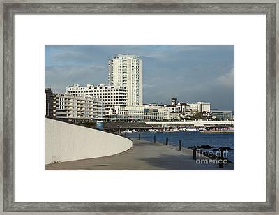 Ponta Delgada Waterfront Framed Print by Gaspar Avila