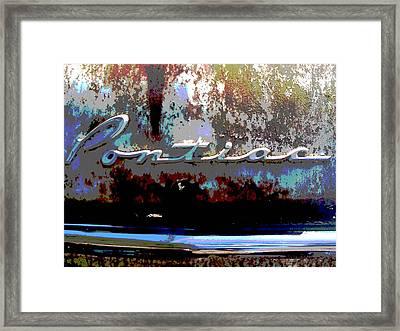 Pontiac Framed Print by Audrey Venute