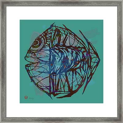 Pop Art - New Tropical Fish Poster Framed Print
