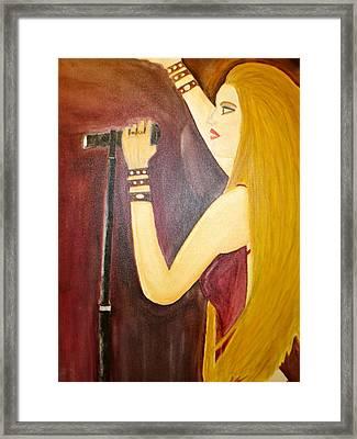 Pop Artist Framed Print