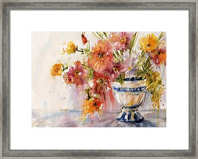Poppies Framed Print by Judith Levins
