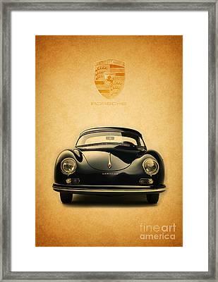 Porsche 356 Framed Print