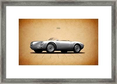 Porsche 550 Framed Print