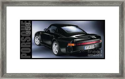 The Porsche 959 Framed Print by Jon Neidert