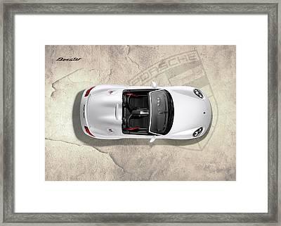 Porsche Boxster Framed Print by Mark Rogan