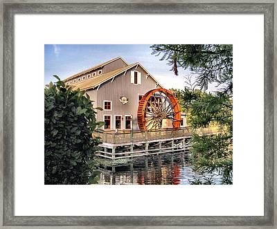 Port Orleans Riverside Iv Framed Print