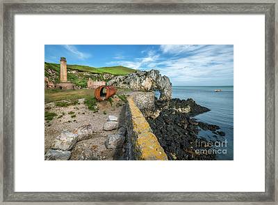 Porth Wen Brickworks Framed Print by Adrian Evans