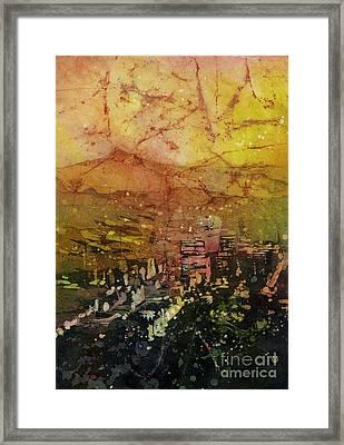 Portland Sunrise Framed Print by Ryan Fox