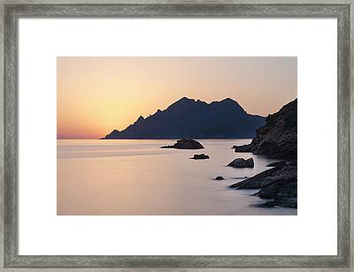 Porto - Corsica Framed Print