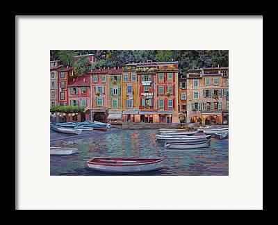 Portofino Framed Prints