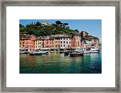 Portofino Italy Framed Print by Xavier Cardell