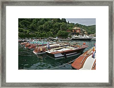 Portofino Framed Print by Steven Lapkin
