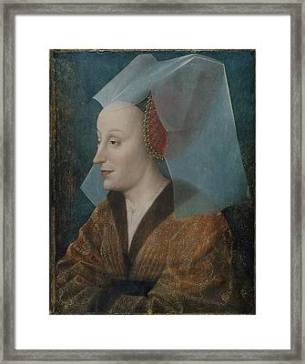 Portrait Of A Noblewoman Framed Print by MotionAge Designs