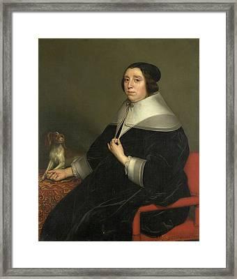 Portrait Of A Woman Framed Print