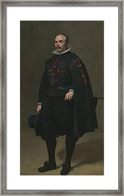 Portrait Of Don Pedro De Barberana Framed Print