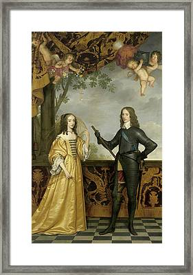 Portrait Of William II Framed Print