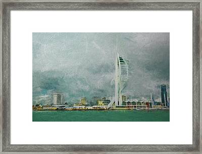 Portsmouth Framed Print by Sharon Lisa Clarke