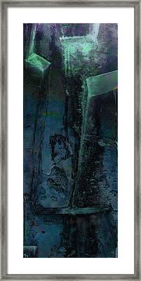Framed Print featuring the digital art Poseidon by Ken Walker