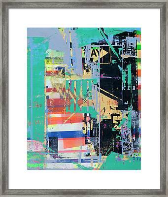 Power Of Suggestion Framed Print by Shay Culligan