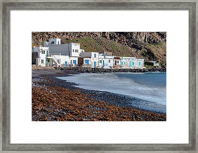 Pozo Negro - Fuerteventura Framed Print