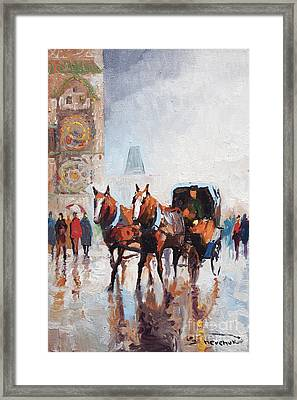 Prague Old Town Square Framed Print