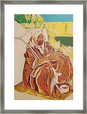 Prayer At Benghazi Framed Print by Biagio Civale