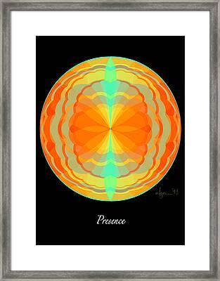 Presence Framed Print by Angela Treat Lyon