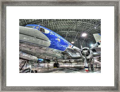 Presidential Aircraft - Douglas Vc-118, The Independence  Framed Print