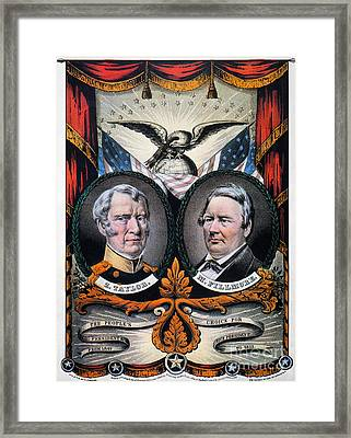 Presidential Campaign, 1848 Framed Print by Granger
