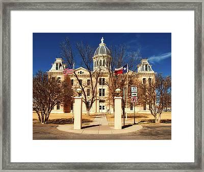 Presidio County Courthouse Framed Print