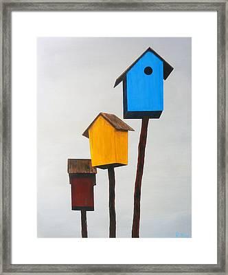 Primary Residence Framed Print by Robert Roy