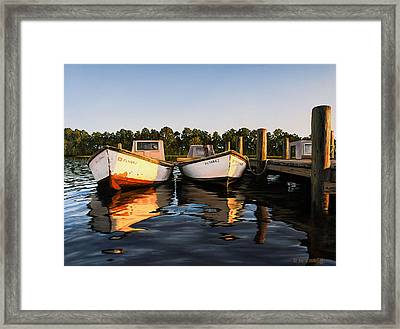 Framed Print featuring the painting Prime Of Life by Rick McKinney