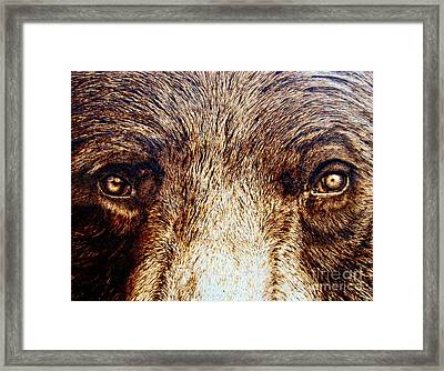 Framed Print featuring the drawing Primitive Intelligence by Adam Owen