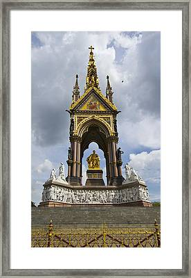 Prince Albert Memorial Statue  Framed Print by David French