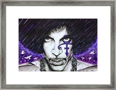 Prince Framed Print by Darryl Matthews