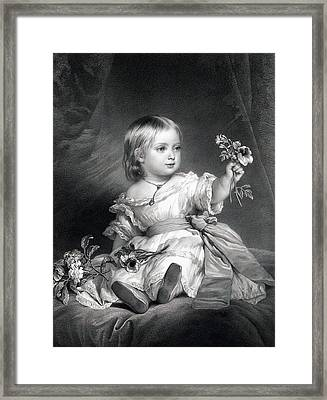 Princess Royal Framed Print