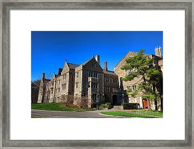 Princeton University Little And Dillon Gym Halls Framed Print