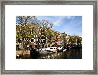 Prinsengracht Framed Print