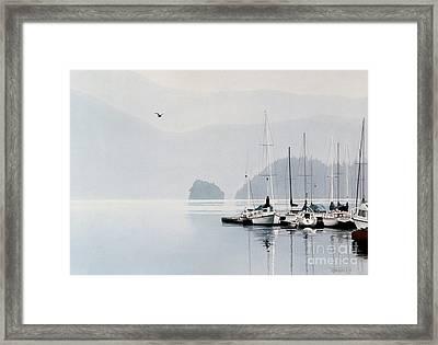 Private Refuge Framed Print