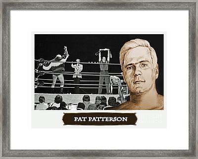 Professional Wrestling Legend Pat Patterson Framed Print