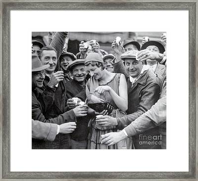 Prohibition Repealed, 1933 Framed Print