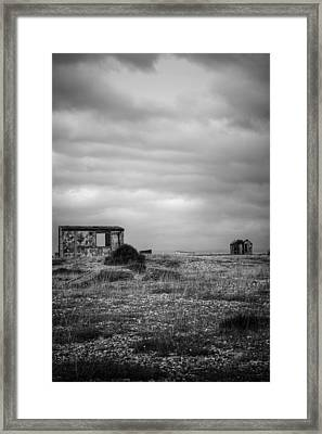 Projekt Desolate Loveshack V  Framed Print by Stuart Ellesmere