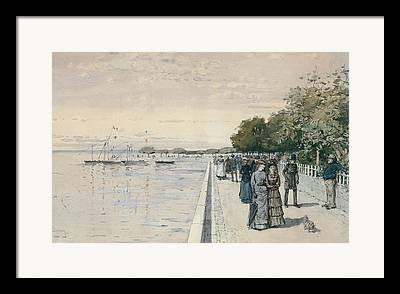 Hassam Drawings Framed Prints