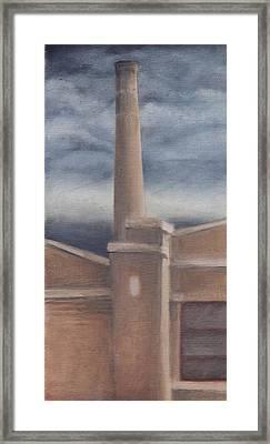Prospect Ave Framed Print