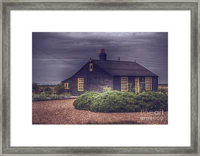 Prospect Cottage Framed Print by Nigel Bangert