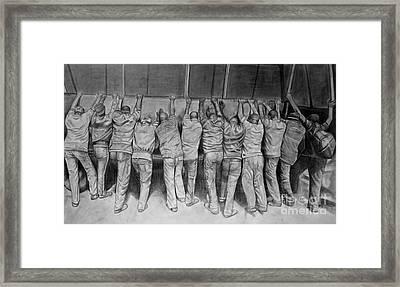 Protest Framed Print by Curtis James