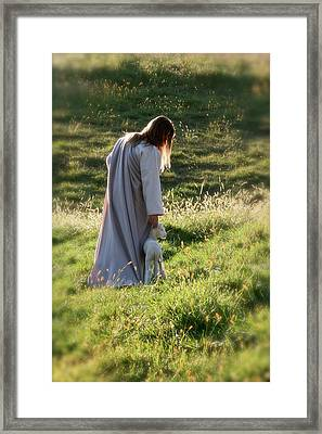 Psalm 23 Framed Print by Vienne Rea