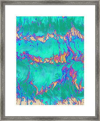 Psychedelic Series #2 Framed Print