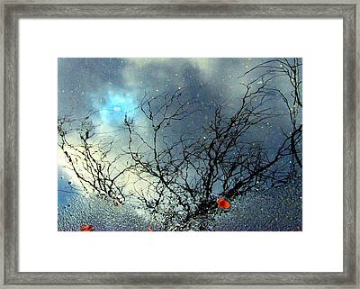 Puddle Art Framed Print